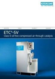ETC®-SV - Bauer Kompressoren