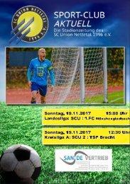 SPORT-CLUB AKTUELL - SAISON 17/18 - AUSGABE 8