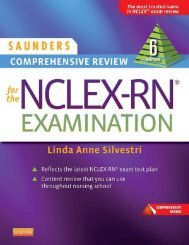 Saunders Comprehensive Review for the NCLEX-RN Examination 6th edition