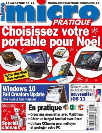 Micro Pratique - Décembre 2017