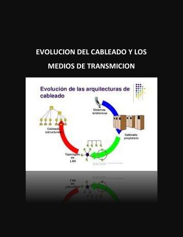 EVOLUCION DEL CABLEADO Y LOS MEDIOS DE TRANSMICION