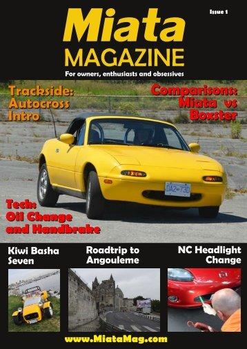 MiataMag Issue 1