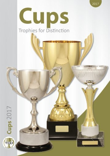 TCD 2017 Cups Catalogue