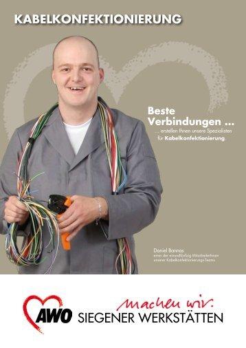 Kabelkonfektionierung - AWO Kreisverband Siegen-Wittgenstein/Olpe