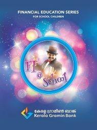 FI@School Booklet (Malayalam)- Kerala Gramin Bank