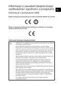 Sony SVP1321V9R - SVP1321V9R Documents de garantie Polonais - Page 5
