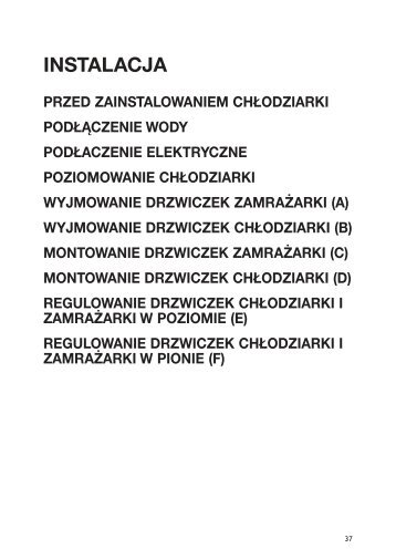 KitchenAid 20RW-D3 A+ SF - 20RW-D3 A+ SF PL (858641211000) Installazione