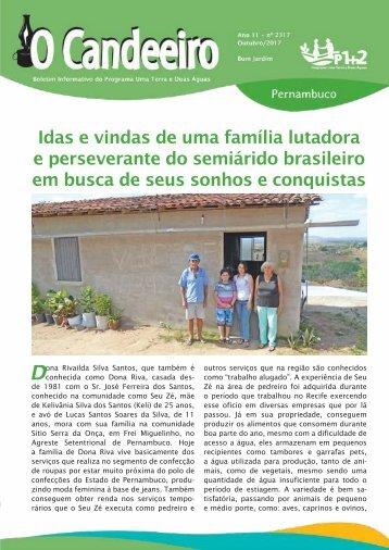 Idas e vindas de uma fam?lia lutadora e perseverante do semi?rido brasileiro em busca de seus sonhos e conquistas