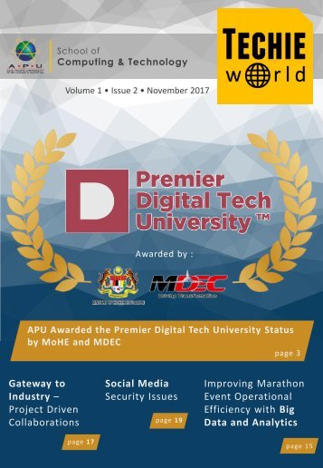 Techie World - Vol 1 - Nov 2017