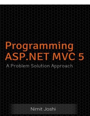 Programming ASP.NET MVC 5