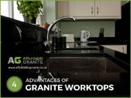4 Reasons Why Granite Worktops are a Good Choice for your Kitchen