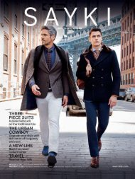 SAYKI: Men's Fashion Brand