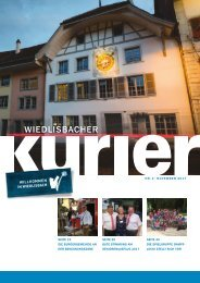 Schnste Schulreisen im Aare- und Seeland - PDF