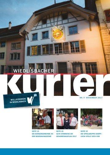 Wiedlisbacher Kurier 4/2017