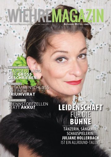 Wiehre Magazin, Ausgabe Mittel-/Oberwiehre (November 2017)