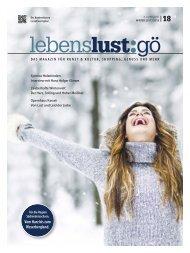 Lebenslust 18 - winter 2018