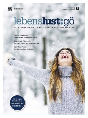 Lebenslust 18 - winter 2018
