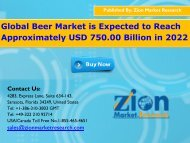 Global Beer Market, 2016 – 2022