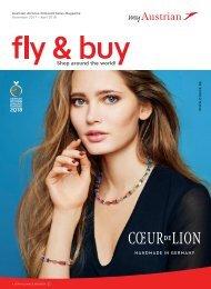 Austrian Airlines Onboard Sales Magazine, November 2017 - April 2018