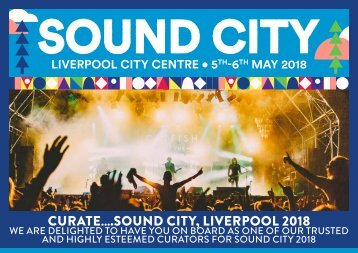 SOUND CITY 2018 CURATE