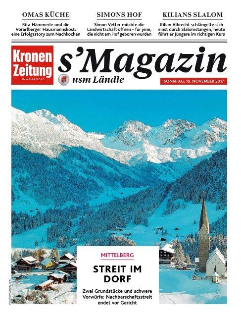 s'Magazin usm Ländle, 19. November 2017