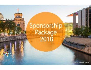 CEPIC Sponsorship Package 2018