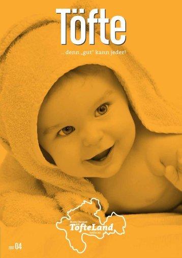Töfte Regionalmagazin 04/2017 - Baby-Spezial