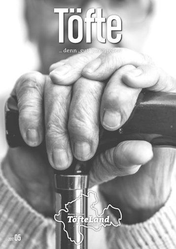 Töfte Regionsmagazin 05/2017 - Seniorenspezial