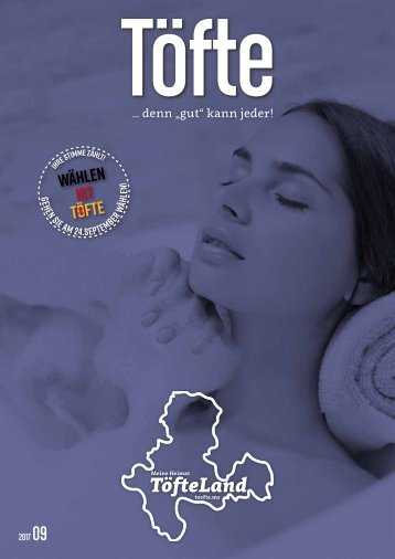 Töfte Regionsmagazin 09/2017 - Tag des Bades