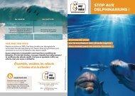 Stop aux delphinariums