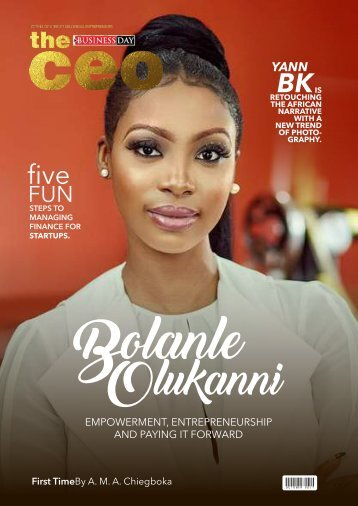 The BusinessDay CEO Magazine October Edition
