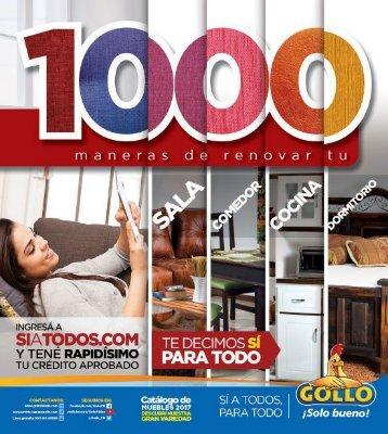 Gollo 1000 Maneras de renovar tu...