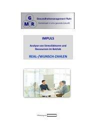 IMPULS-Analyse für Führungskräfte