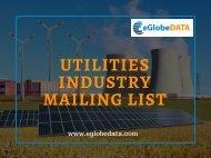 Utilities Industry Mailing List