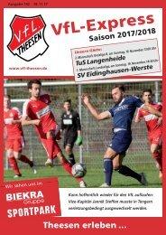 A4 Saisonheft Theesen!  17-18- Ausgabe 142 Eidingh
