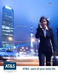 AT&S - part of your daily life - pressetext.adhoc