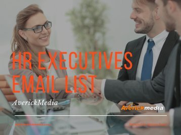 HR Email List