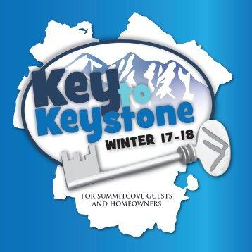 Key to Keystone Winter Season 17 - 18
