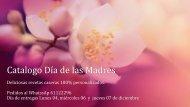 Catalogo dia de las Madres