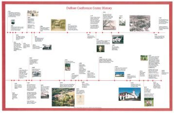 DuBose History Timeline - Overview