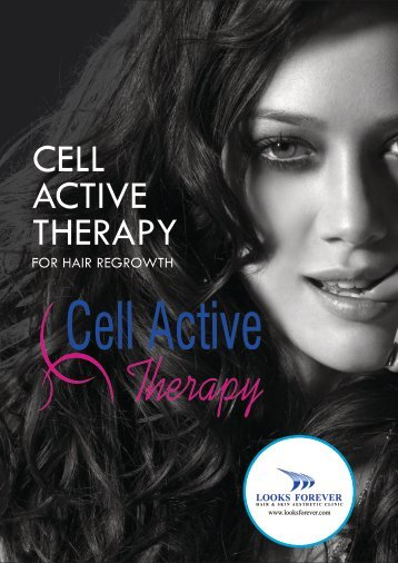 Cell Active Theraphy for Hair Regrowth
