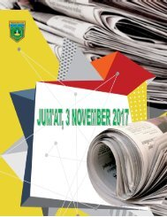 e-Kliping Jum'at, 3 November 2017