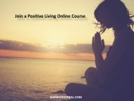 Join a Positive Living Online Course