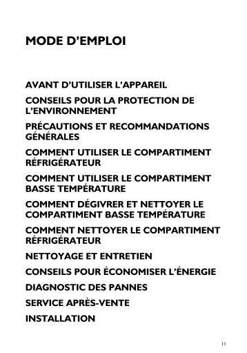 KitchenAid URI 1440/A - URI 1440/A FR (855066801000) Istruzioni per l'Uso