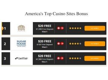 America's Top Casino Sites Bonus