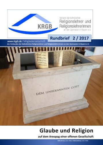 KRGB Rundbrief 2017 / 2