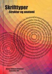 Skrifttyper - Struktur og anatomi