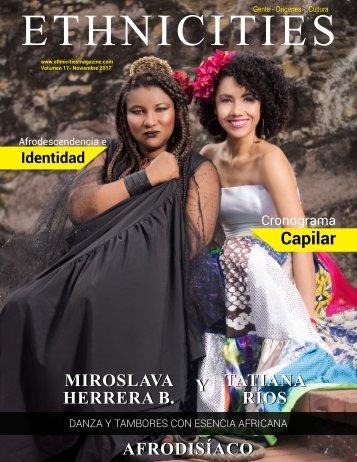 Ethnicities Magazine Noviembre 2017 Volumen 17