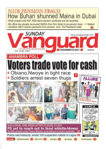 19112017 : ANAMBRA POLL: Voters trade vote for cash