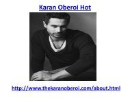 Hot Karan oberoi is the best model in India